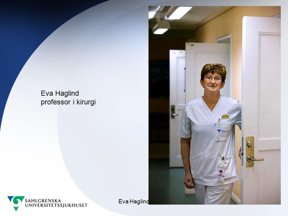 Eva Haglind professor i kirurgi