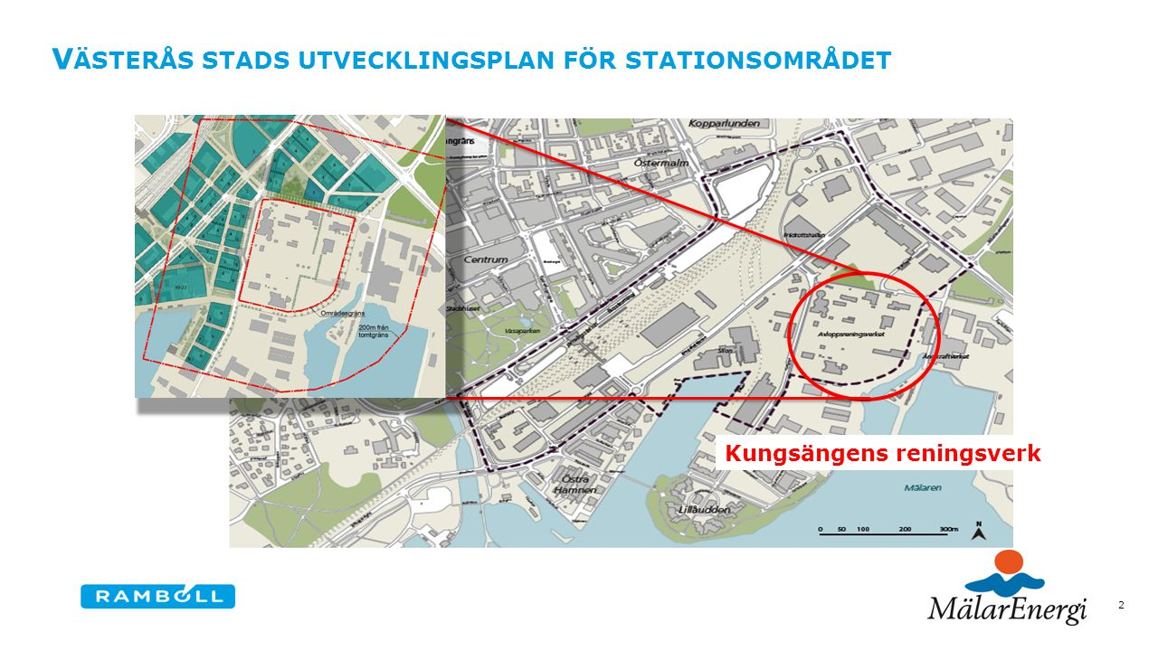 Västerås stads utvecklingsplan för stationsområdet