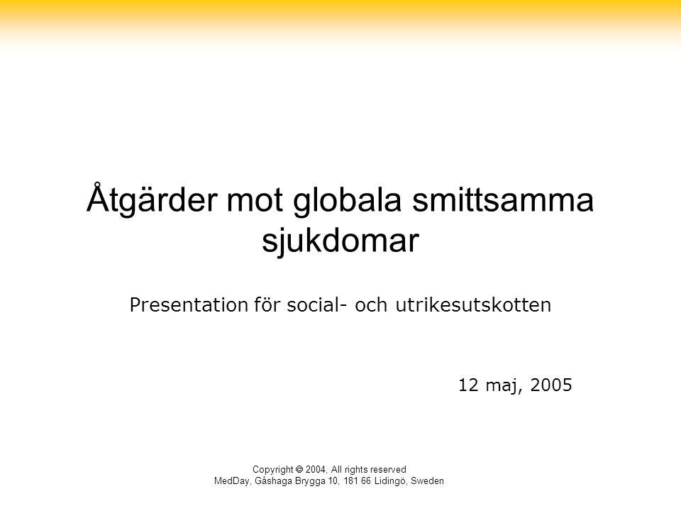 Åtgärder mot globala smittsamma sjukdomar