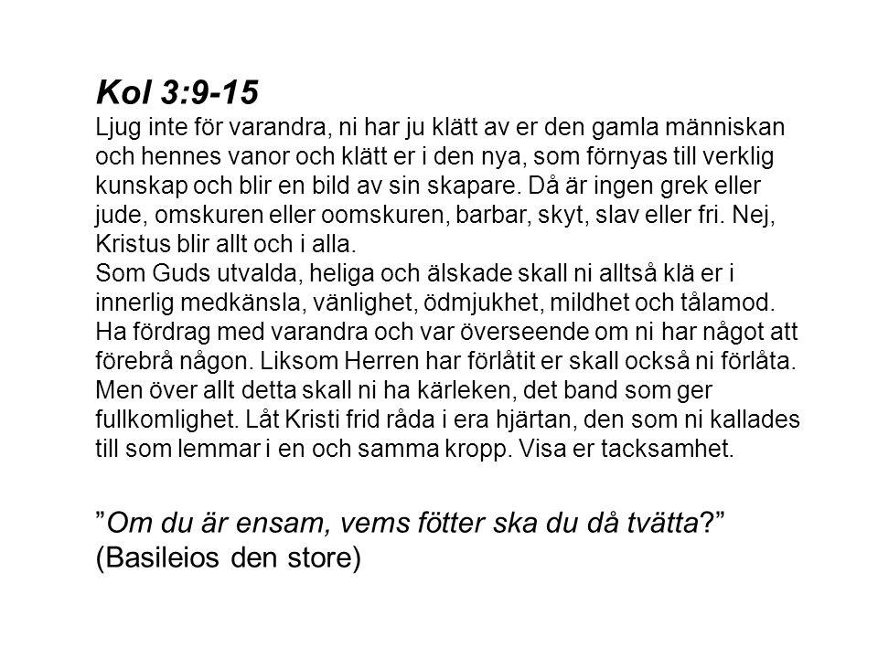 Kol 3:9-15