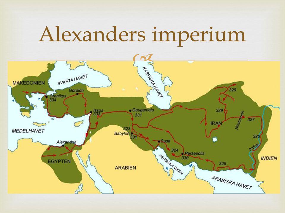 Alexanders imperium