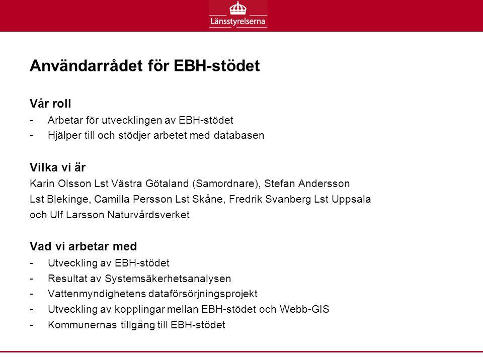 Användarrådet för EBH-stödet