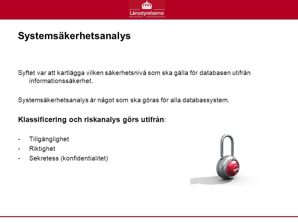 Systemsäkerhetsanalys