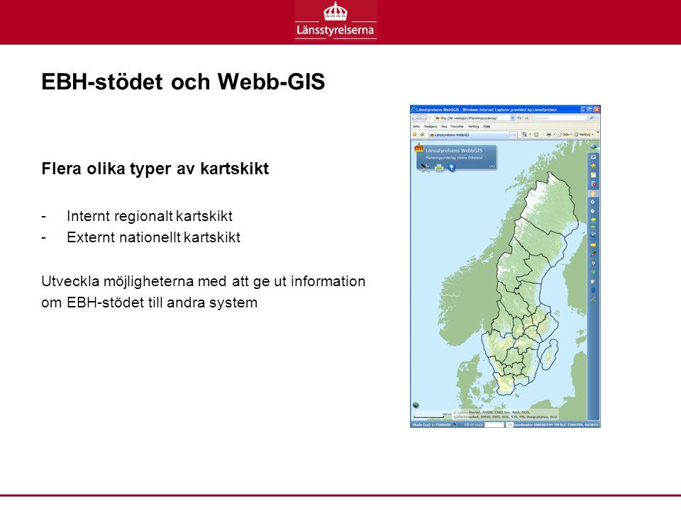 EBH-stödet och Webb-GIS
