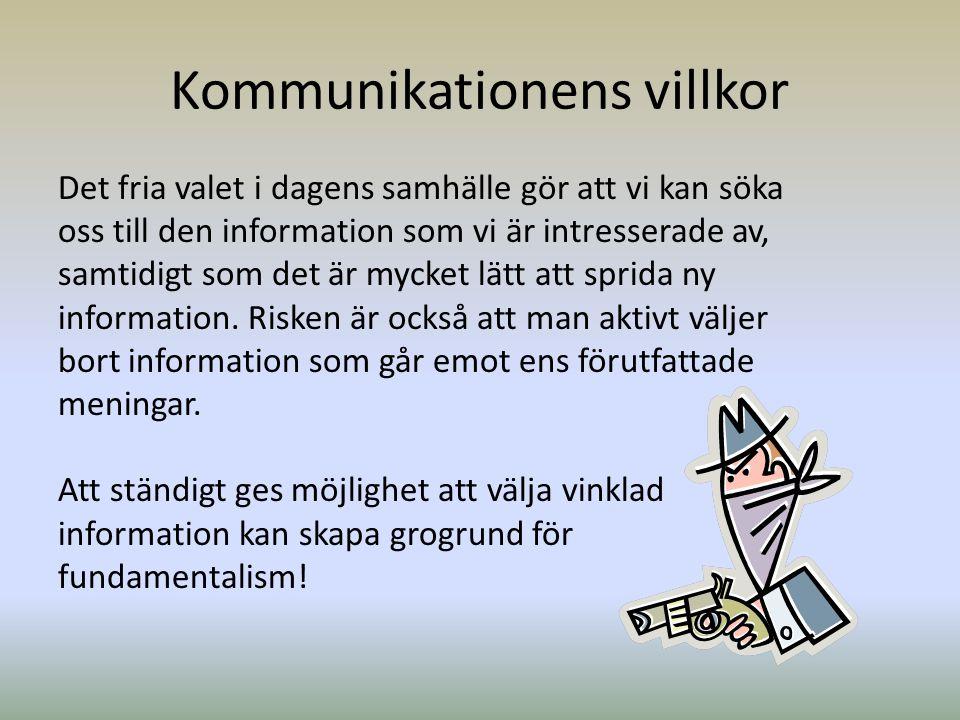 Kommunikationens villkor