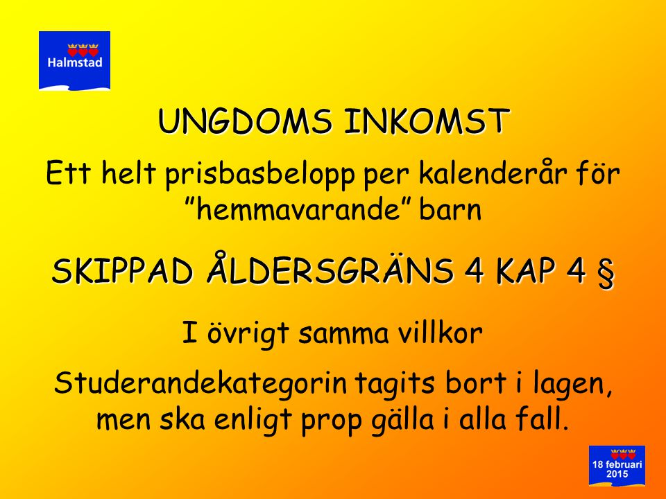SKIPPAD ÅLDERSGRÄNS 4 KAP 4 §
