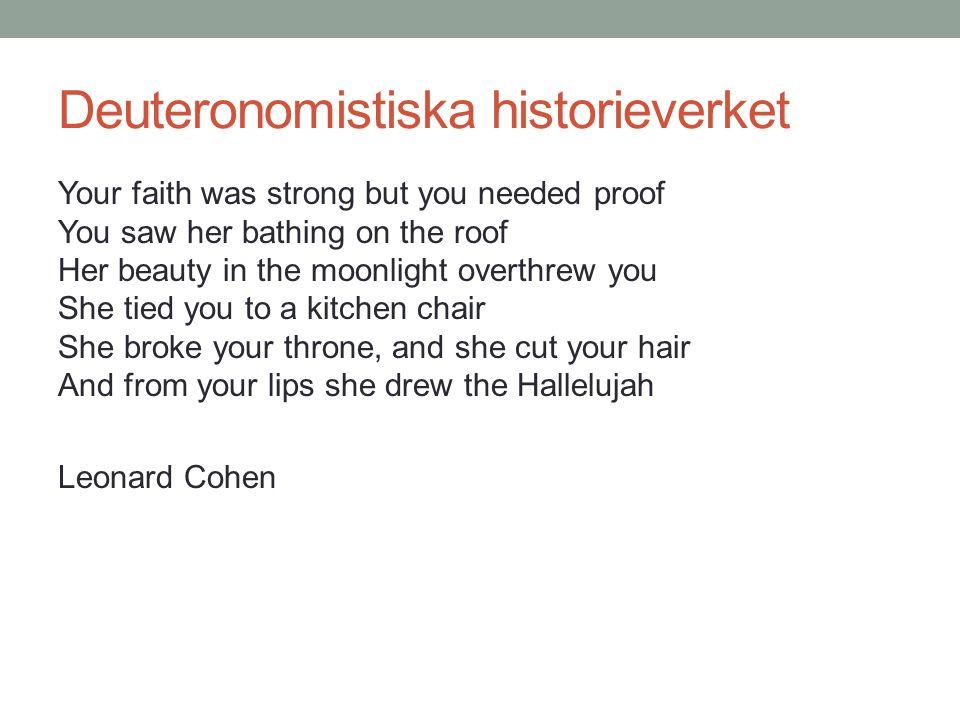 Deuteronomistiska historieverket
