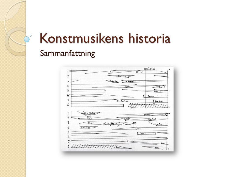 Konstmusikens historia