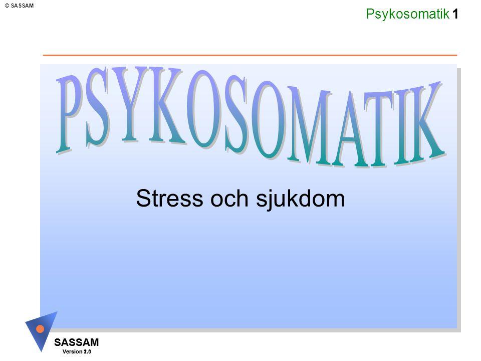 PSYKOSOMATIK Stress och sjukdom Kommentar