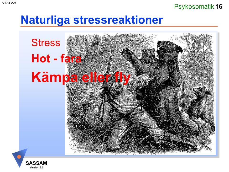 Naturliga stressreaktioner