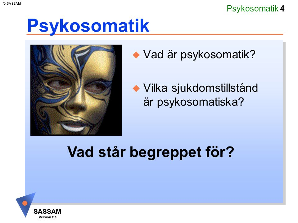 Psykosomatik Vad står begreppet för Vad är psykosomatik