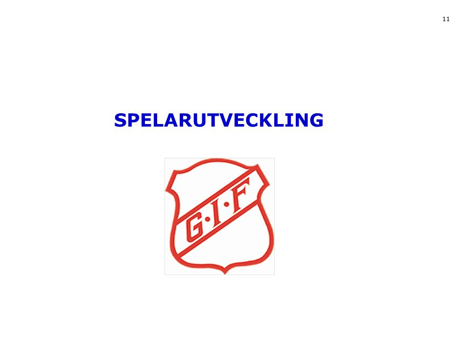 11 SPELARUTVECKLING