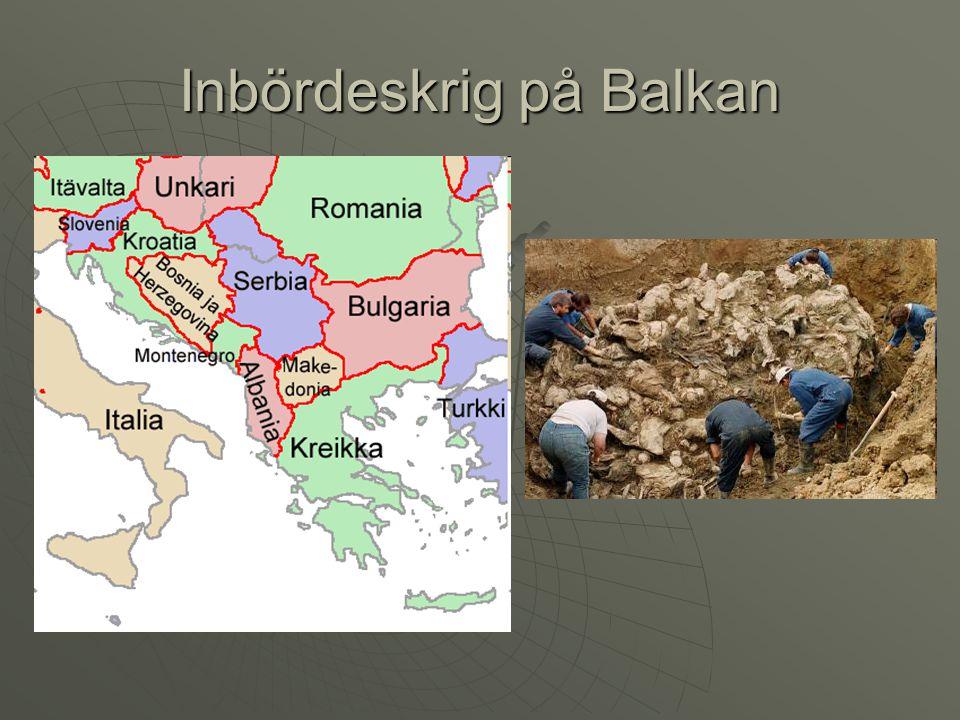 Inbördeskrig på Balkan
