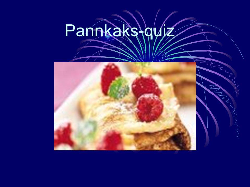 Pannkaks-quiz