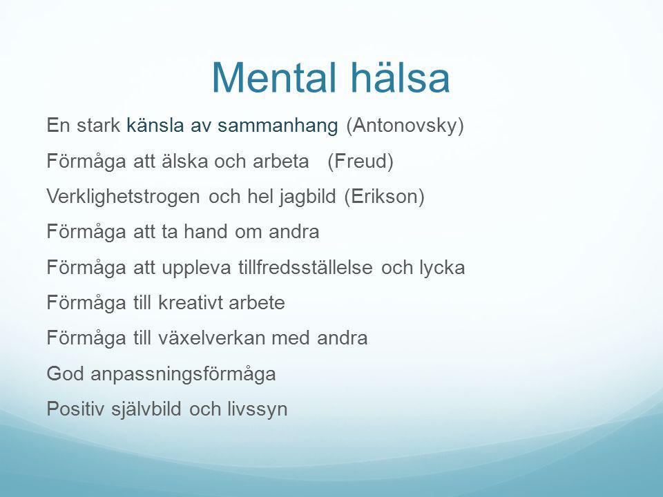 Mental hälsa