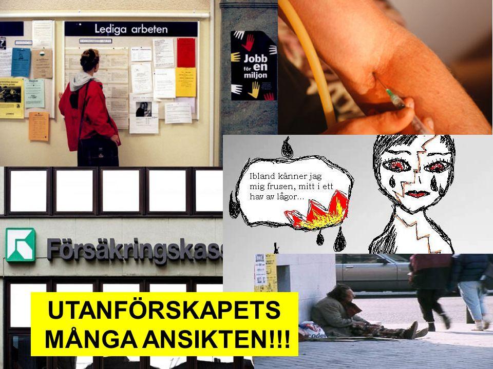 UTANFÖRSKAPETS MÅNGA ANSIKTEN!!!