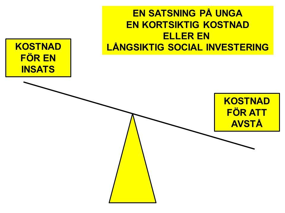 LÅNGSIKTIG SOCIAL INVESTERING