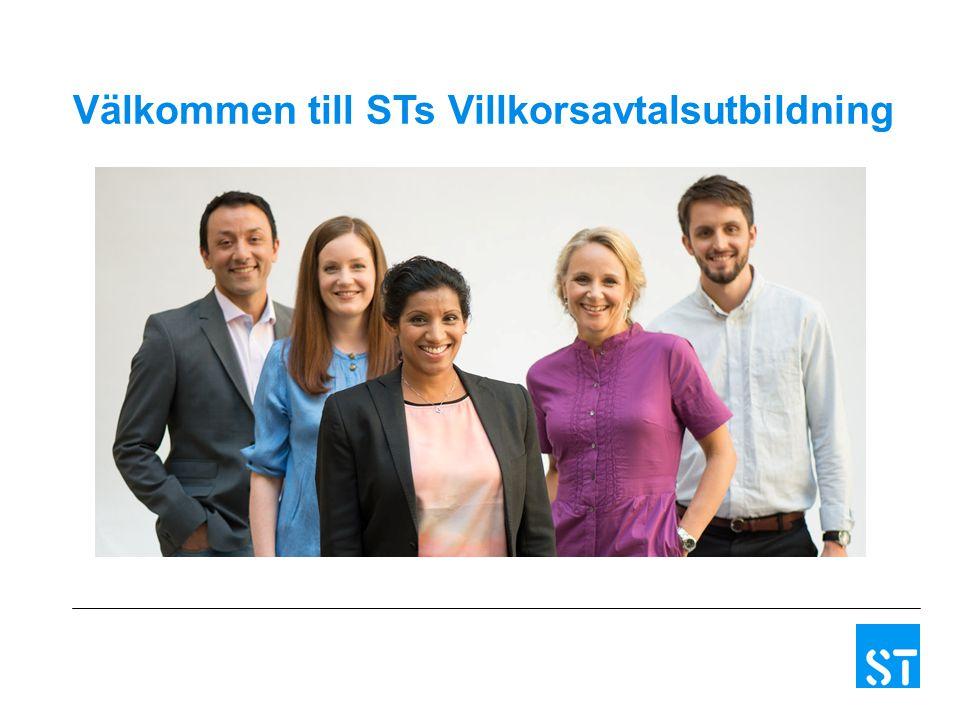 Välkommen till STs Villkorsavtalsutbildning