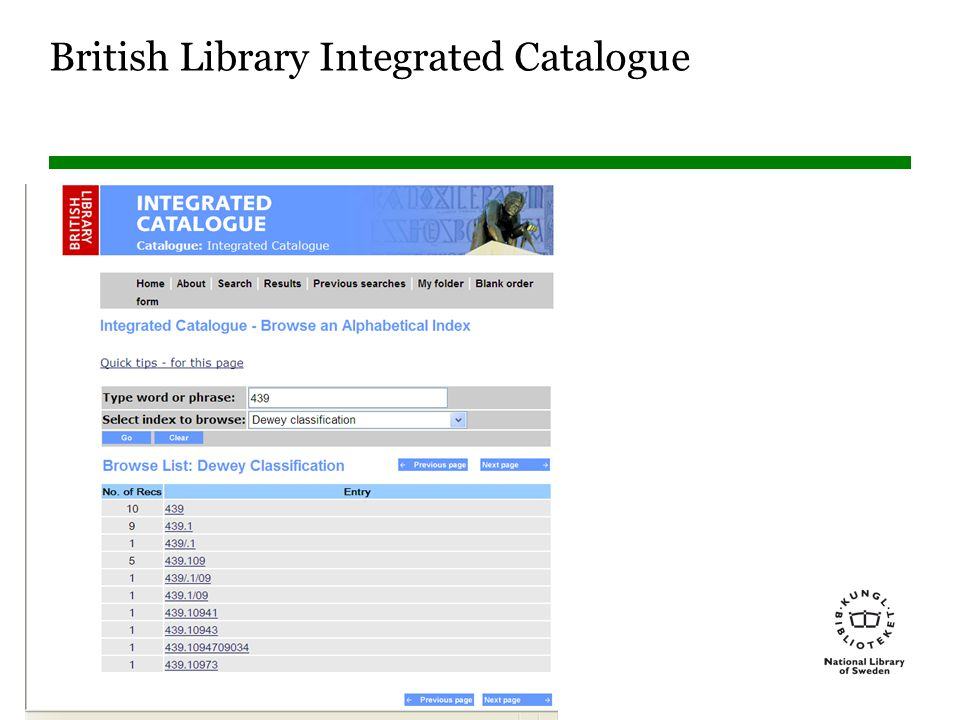 British Library Integrated Catalogue