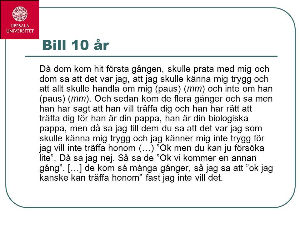 Bill 10 år