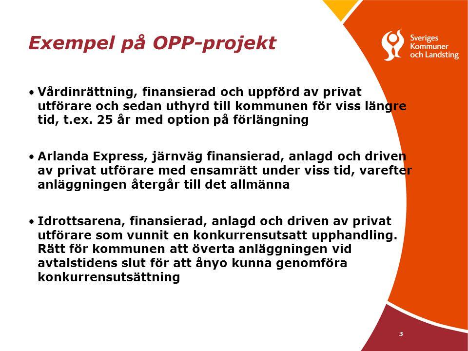 Exempel på OPP-projekt