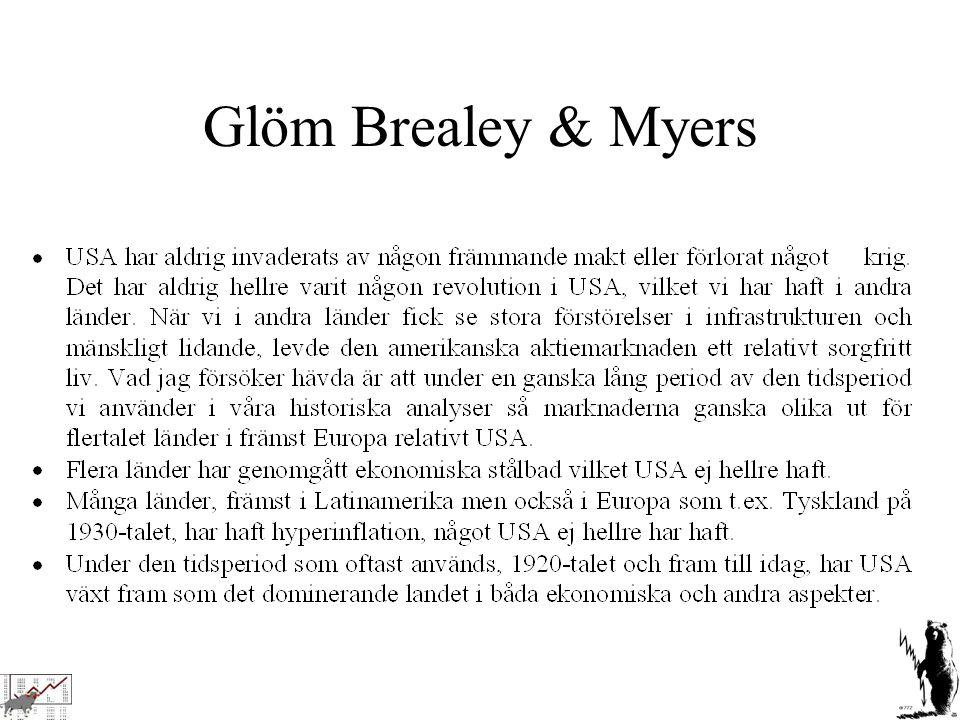 Glöm Brealey & Myers