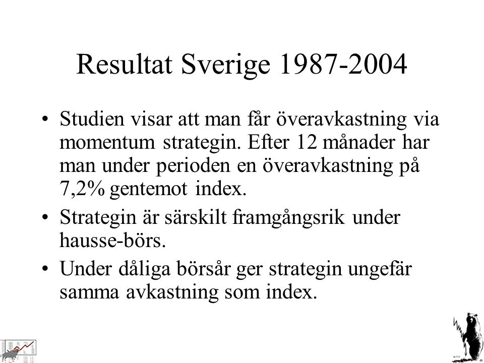 Resultat Sverige 1987-2004