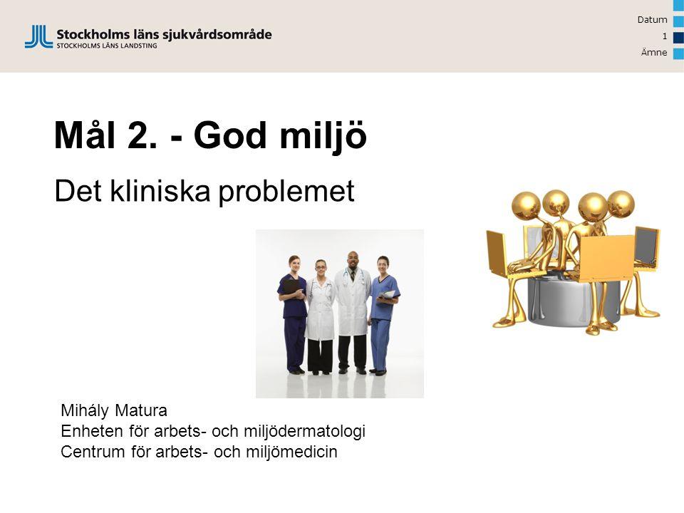 Det kliniska problemet