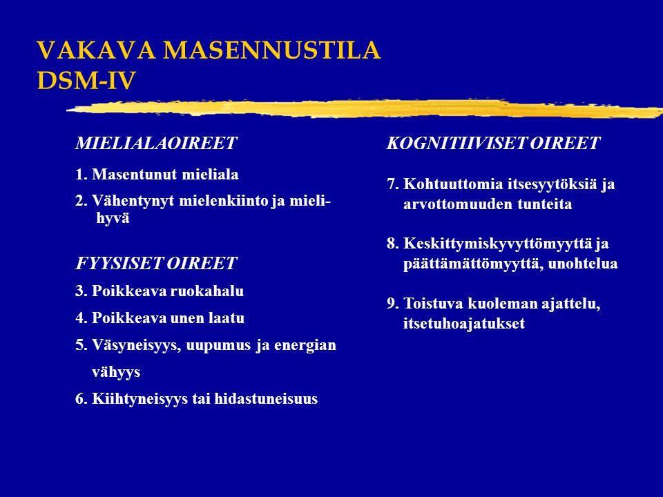 VAKAVA MASENNUSTILA DSM-IV