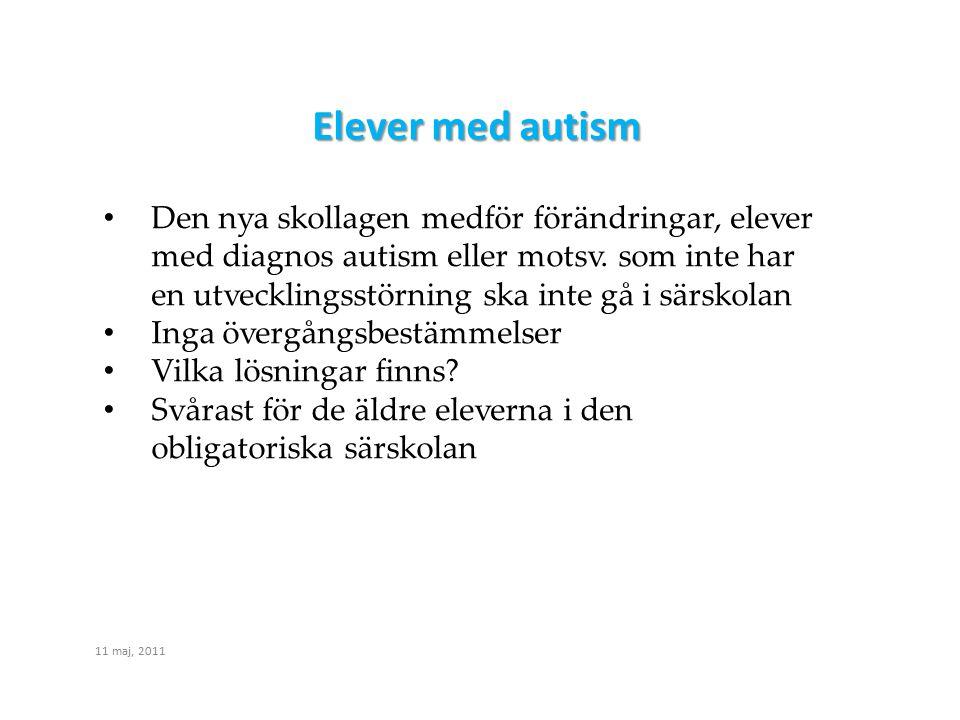 Elever med autism