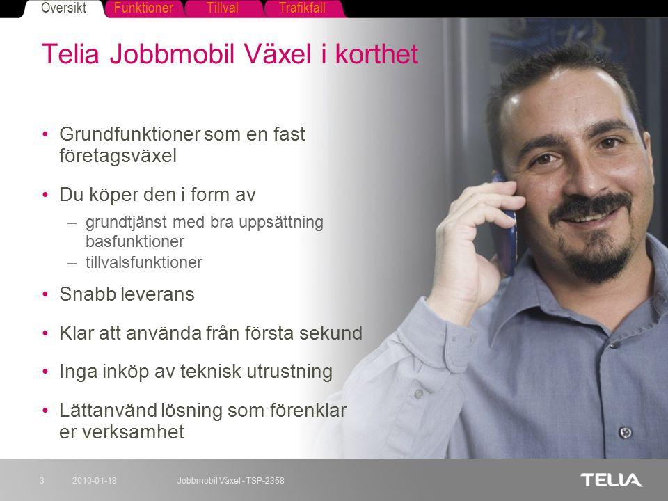 Telia Jobbmobil Växel i korthet