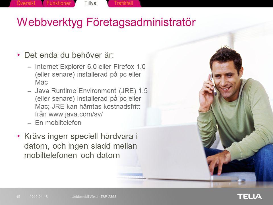 Webbverktyg Företagsadministratör