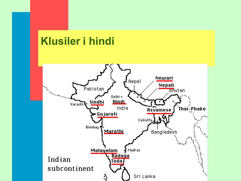 Klusiler i hindi