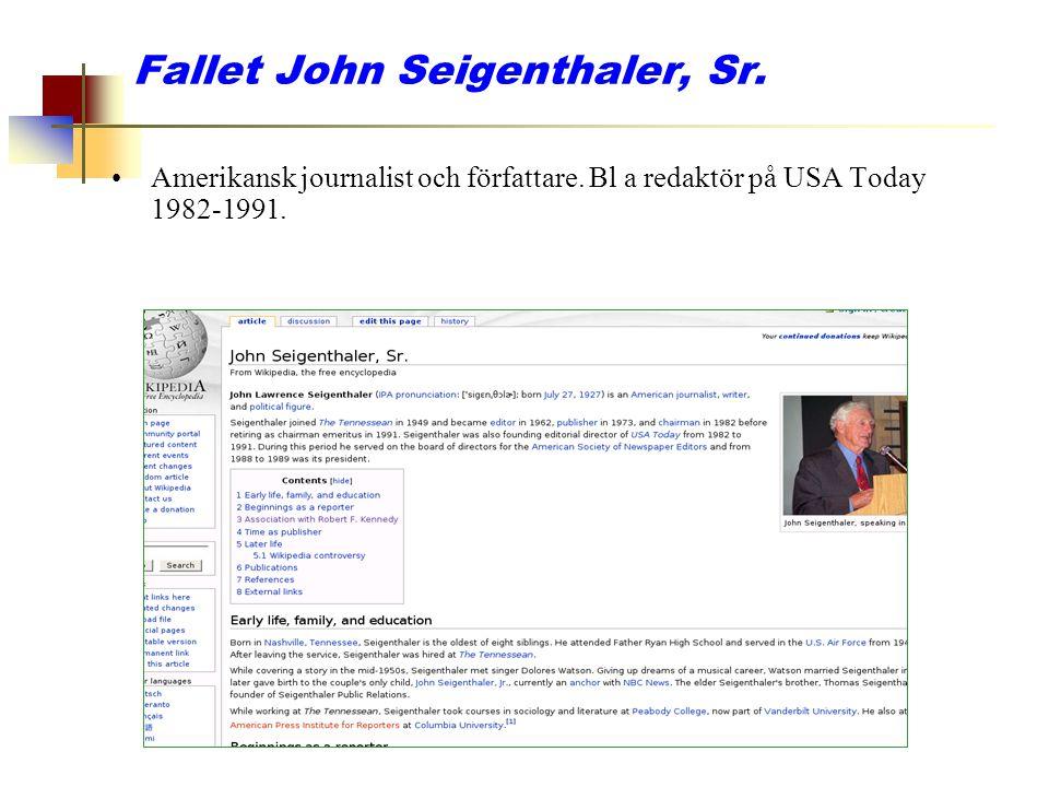 Fallet John Seigenthaler, Sr.