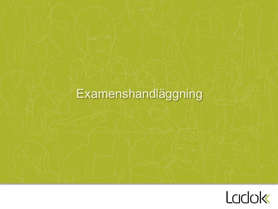 Examenshandläggning