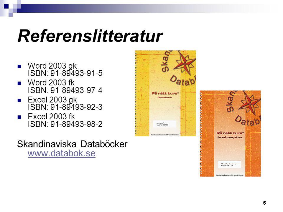 Referenslitteratur Skandinaviska Databöcker www.databok.se
