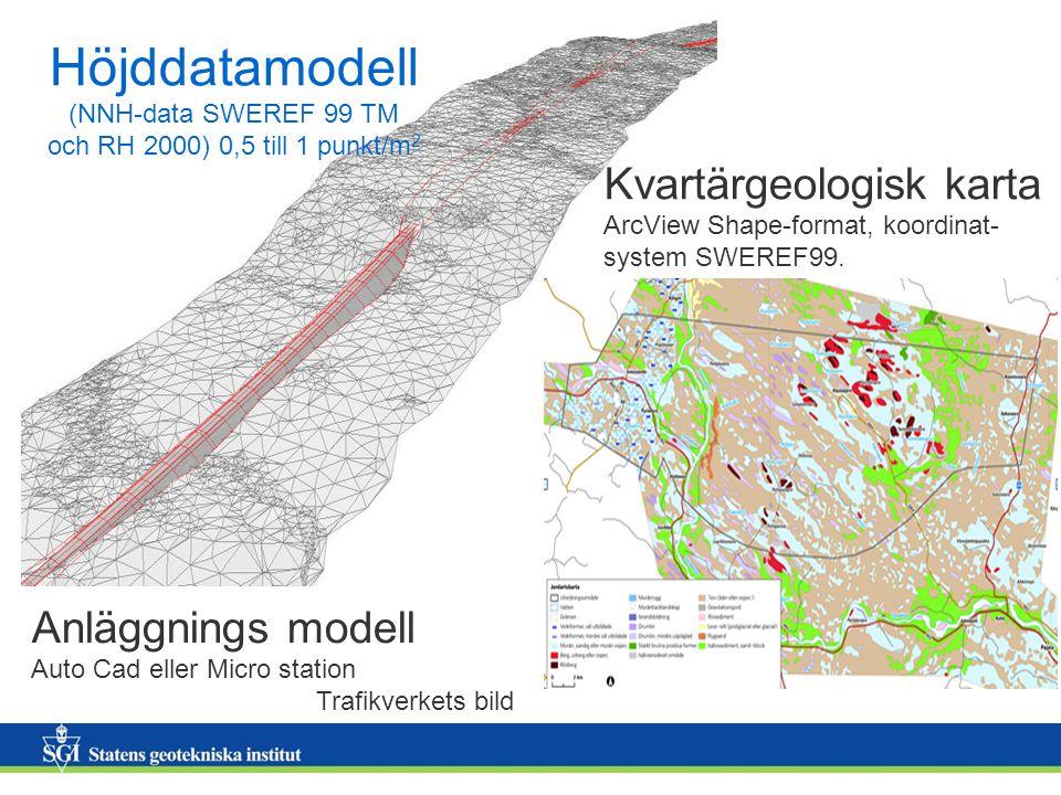Höjddatamodell (NNH-data SWEREF 99 TM och RH 2000) 0,5 till 1 punkt/m2