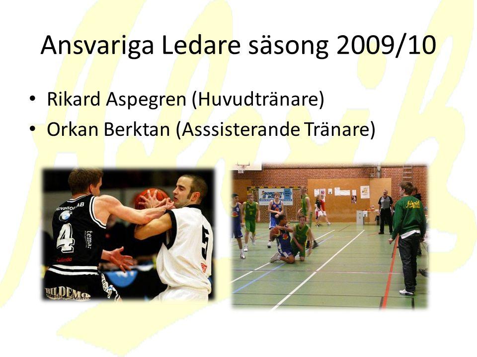 Ansvariga Ledare säsong 2009/10