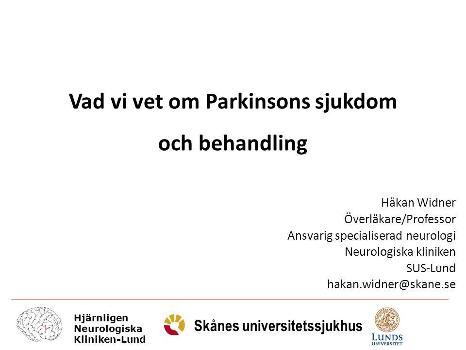 Vad vi vet om Parkinsons sjukdom
