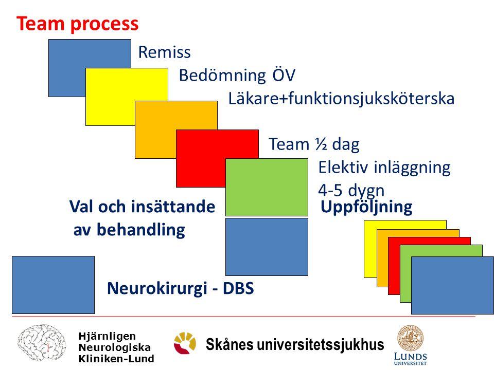 Team process Remiss Bedömning ÖV Läkare+funktionsjuksköterska