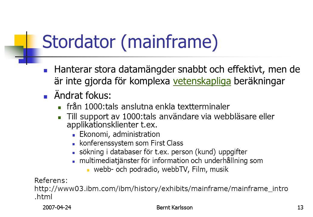 Stordator (mainframe)