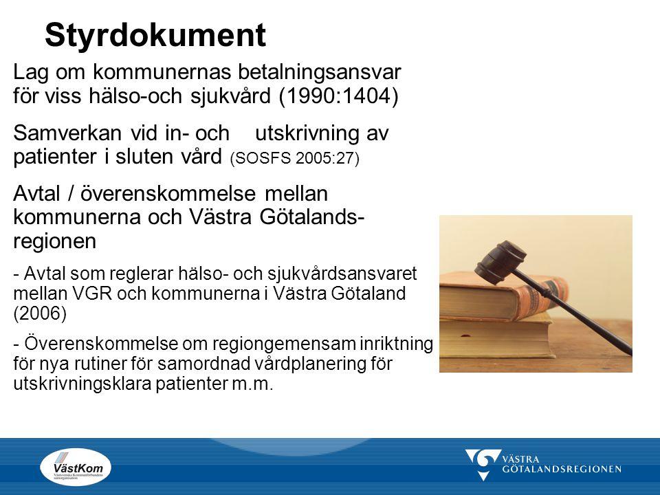 Styrdokument Lag om kommunernas betalningsansvar för viss hälso-och sjukvård (1990:1404)