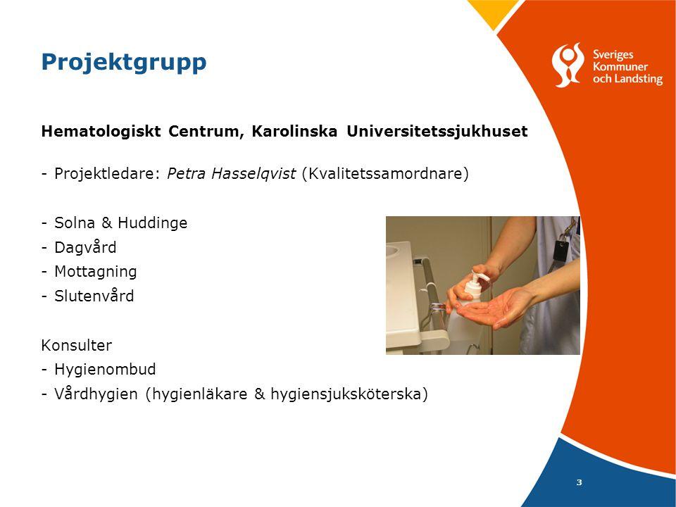 Projektgrupp Hematologiskt Centrum, Karolinska Universitetssjukhuset