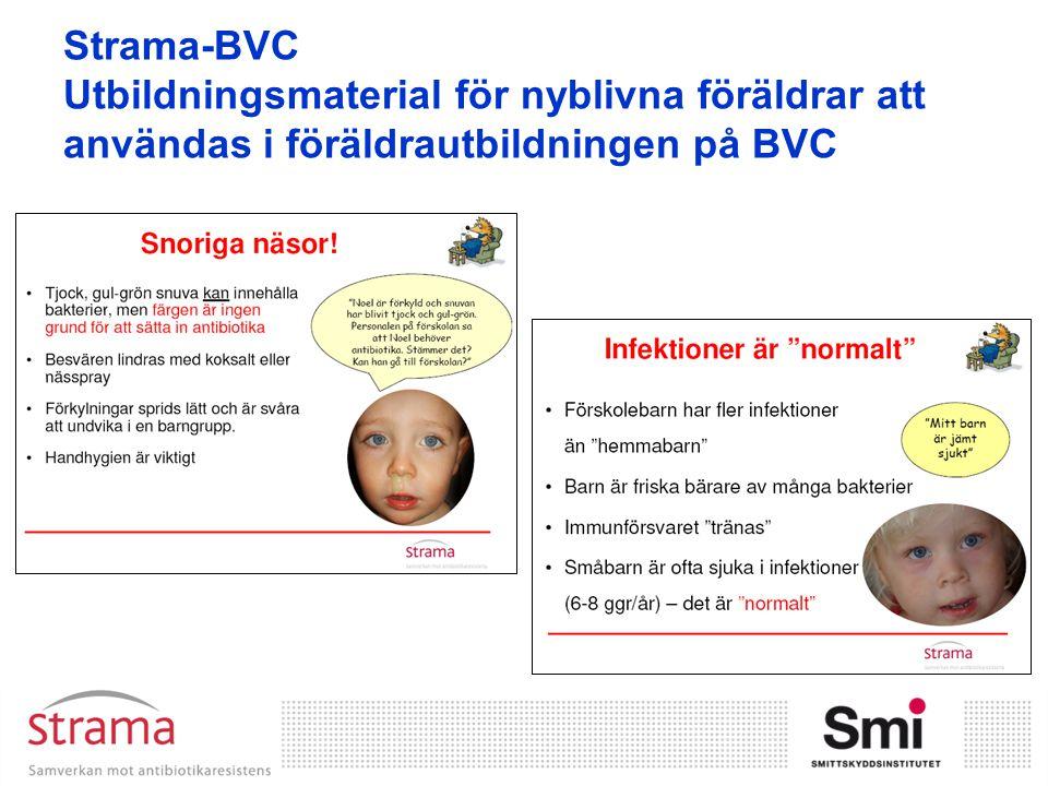 Strama-BVC Utbildningsmaterial för nyblivna föräldrar att användas i föräldrautbildningen på BVC