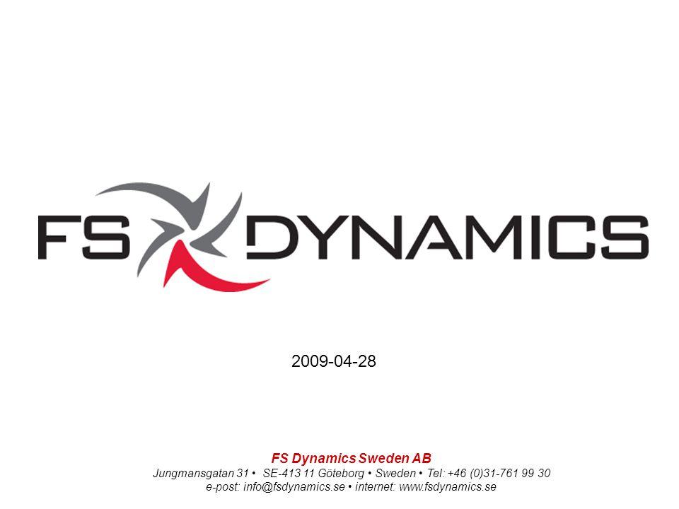 2009-04-28 FS Dynamics Sweden AB