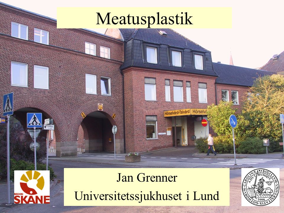 Jan Grenner Universitetssjukhuset i Lund