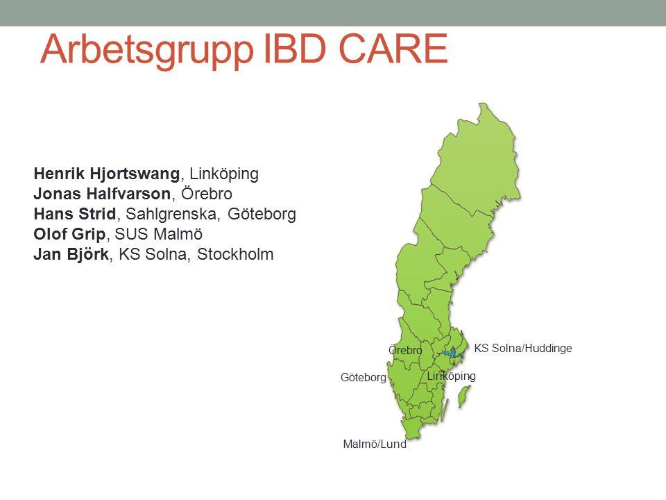 Arbetsgrupp IBD CARE Henrik Hjortswang, Linköping