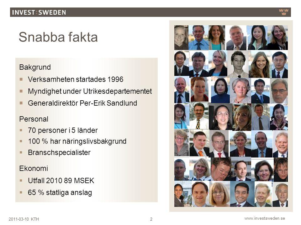 Snabba fakta Bakgrund Personal Ekonomi Verksamheten startades 1996