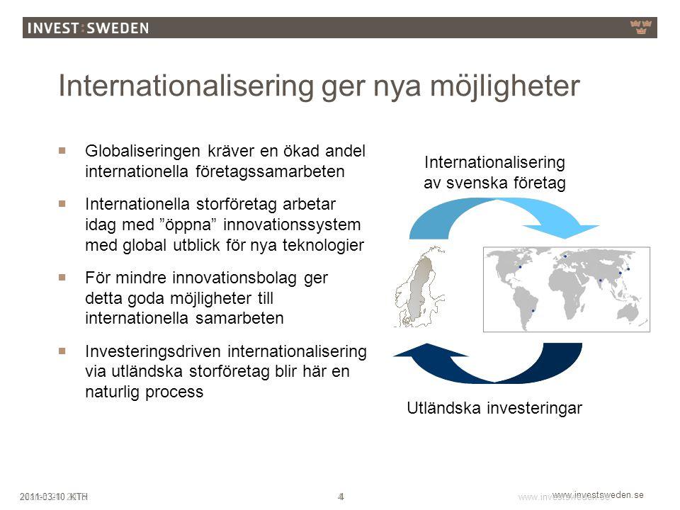 Internationalisering ger nya möjligheter
