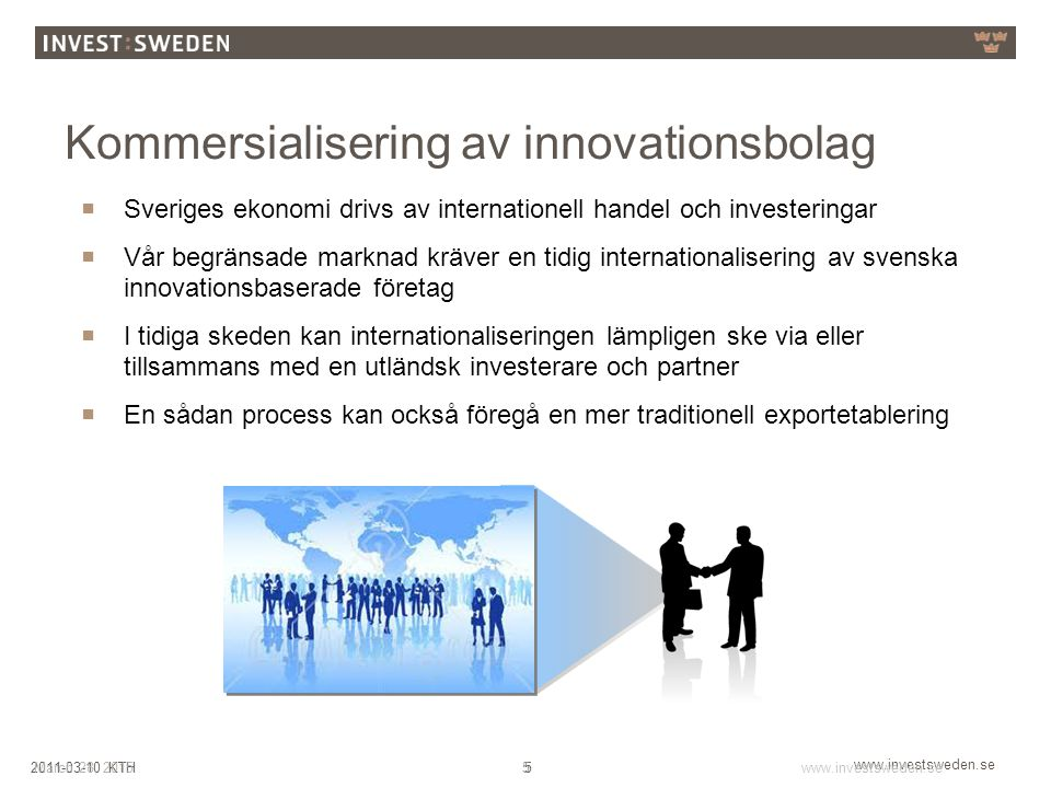 Kommersialisering av innovationsbolag